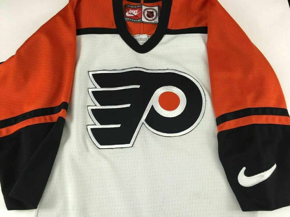 Details about Philadelphia Flyers Nike Ice Hockey Jersey Youth XL YXL 18 20  Sewn NHL 2108 7fced1a5a