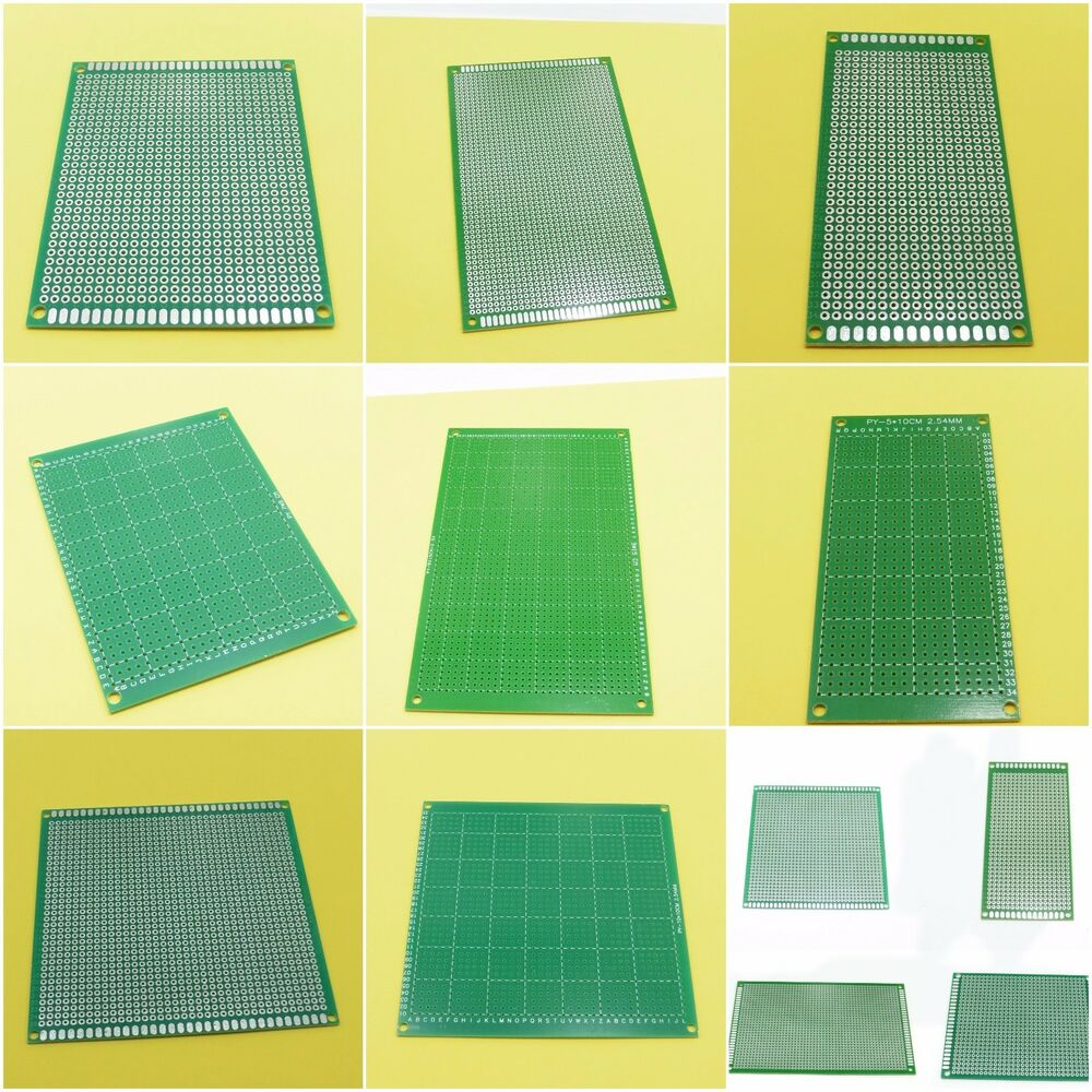 different size pcb circuit boards one sided glass fiber drilled holedetails about different size pcb circuit boards one sided glass fiber drilled hole 2 54mm