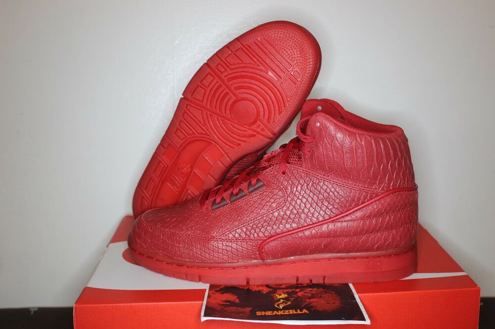 fd971a45e052 Details about Nike Air Python PRM Gym Red October Yeezy Snakeskin ALL  705066-600 Sz 8.5-11.5