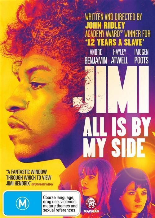 Details about Jimi - All Is By My Side (Dvd) Jimi Hendrix Biography, Drama,  Music Movie