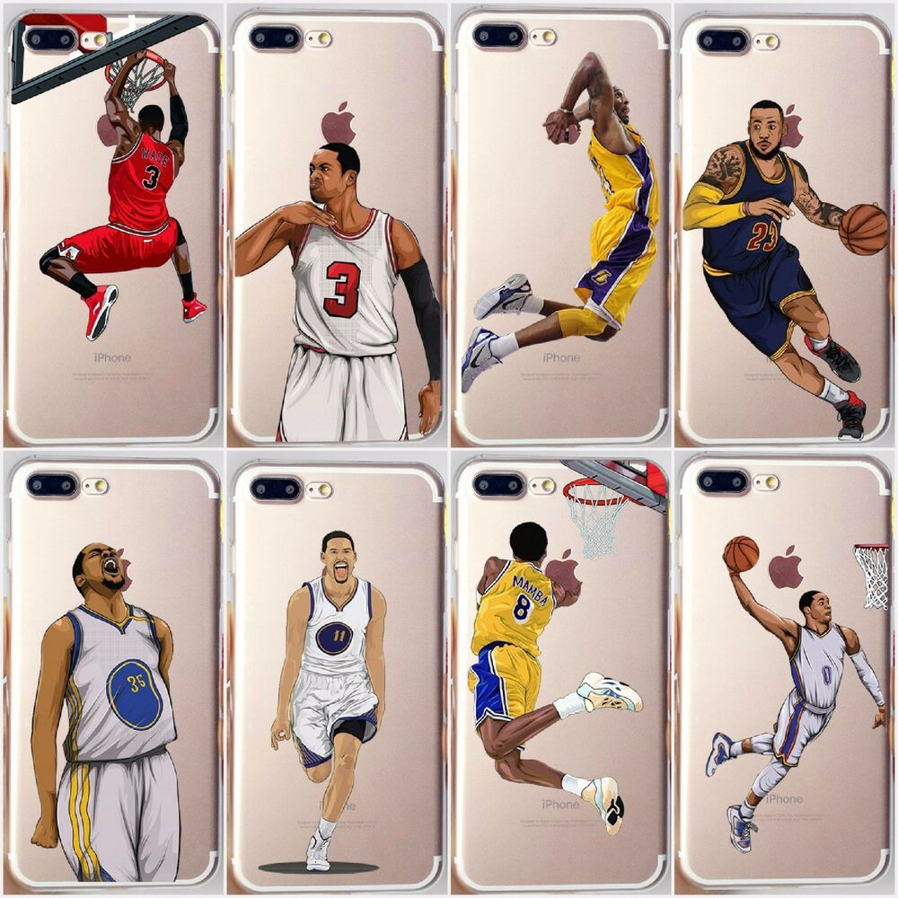 nba iphone cases nba curry wade westbrook cover for iphone 12677
