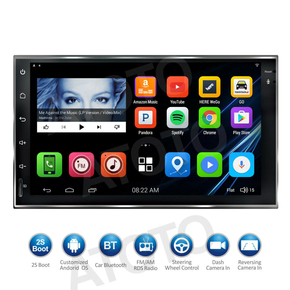 "New 7"" Touchscreen Android Car Stereo Player/Radio/2DIN"