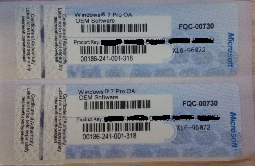 Sale 7637810 Originalmicrosoft Office Key Code Sticker Coa For Office 2013 Pro Retail Oem Pack furthermore Sale 7595695 Microsoft Windows Oem Software Coa License Sticker Windows 10 Product Key Code furthermore 48 Microsoft Windows 98 Se Full Version Oem furthermore Sell original windows 7 pro 18688648 moreover 252334661750. on windows 7 ultimate coa
