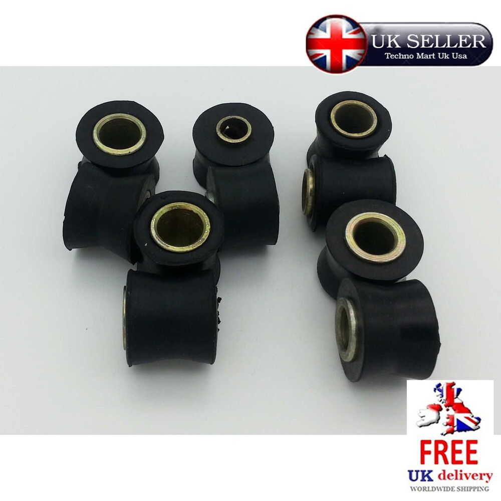 Hatch Shock Mounting Grommet: V Bush Rubber Metal Sleeve Shocker Grommet Mount