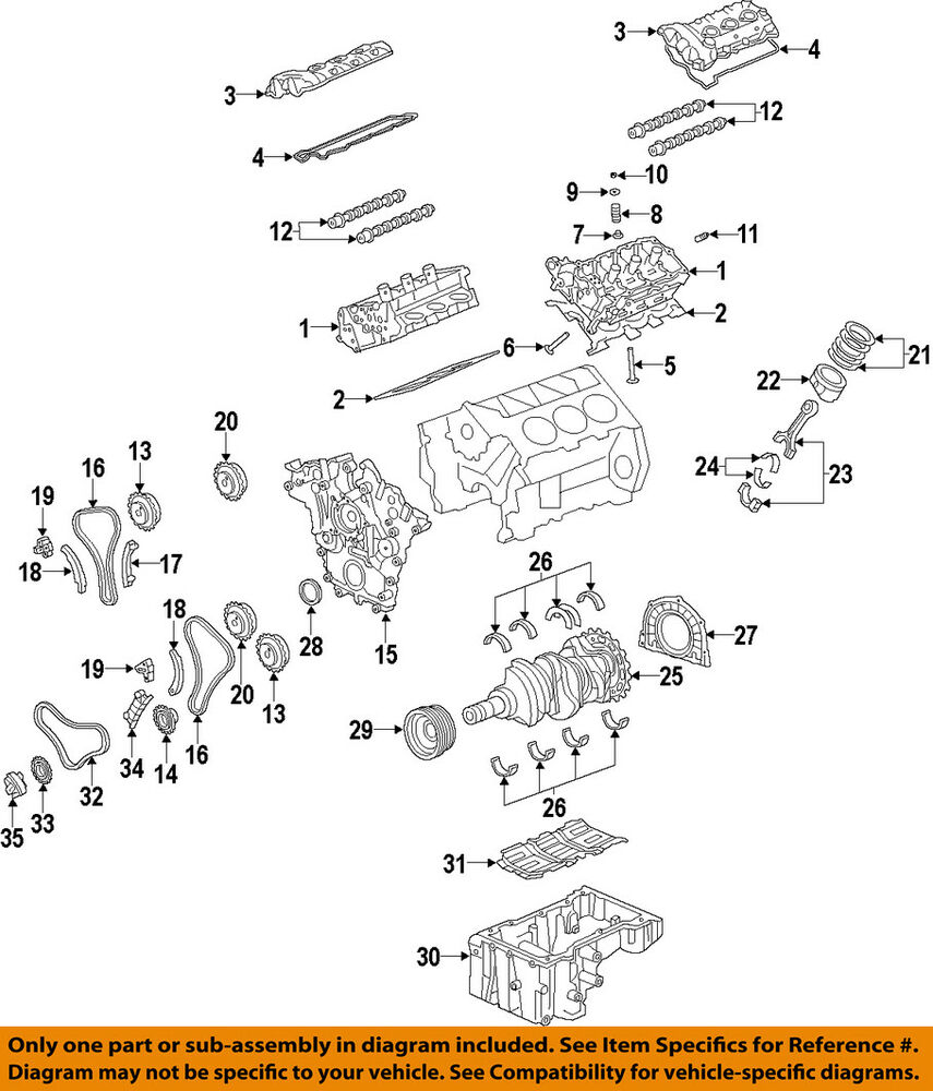 Hyundai Oem 11 15 Genesis Vvt Variable Valve Timing Actuator Engine Diagram Intake Area 243503cga1 Ebay