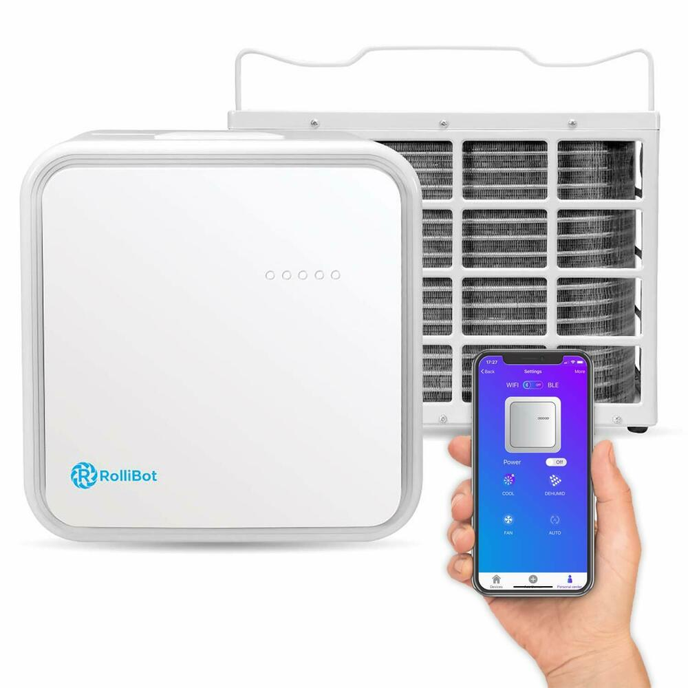 App-Enabled RolliCool Ductless Mini Split Air Conditioner