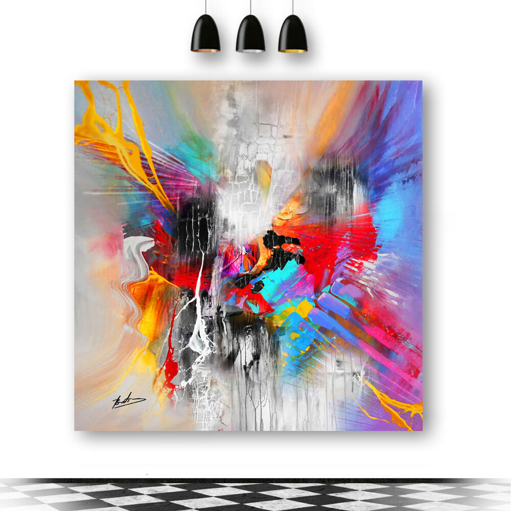 bratis art bilder leinwand abstrakt kunst wandbild kunstdruck modern xxl 224a ebay. Black Bedroom Furniture Sets. Home Design Ideas