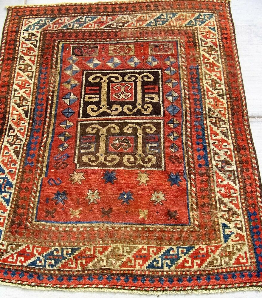 Prayer Rug Company: 19th C. CAUCASIAN KARACHOPS PRAYER RUG .. …