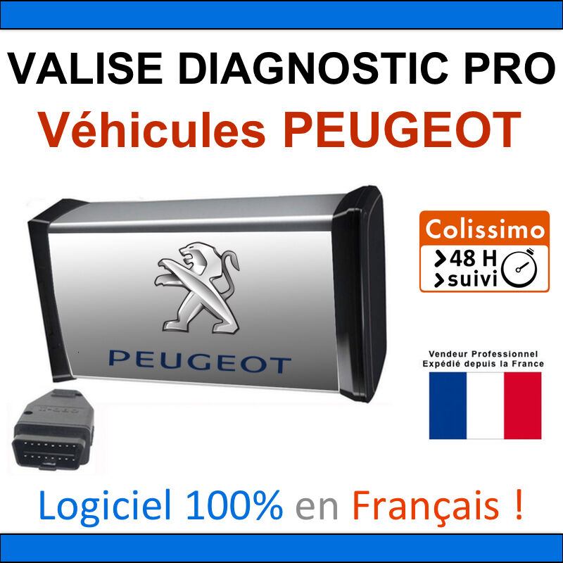maxiecu 2 mpm com valise diagnostic peugeot diagbox lexia pp2000 autocom ebay. Black Bedroom Furniture Sets. Home Design Ideas