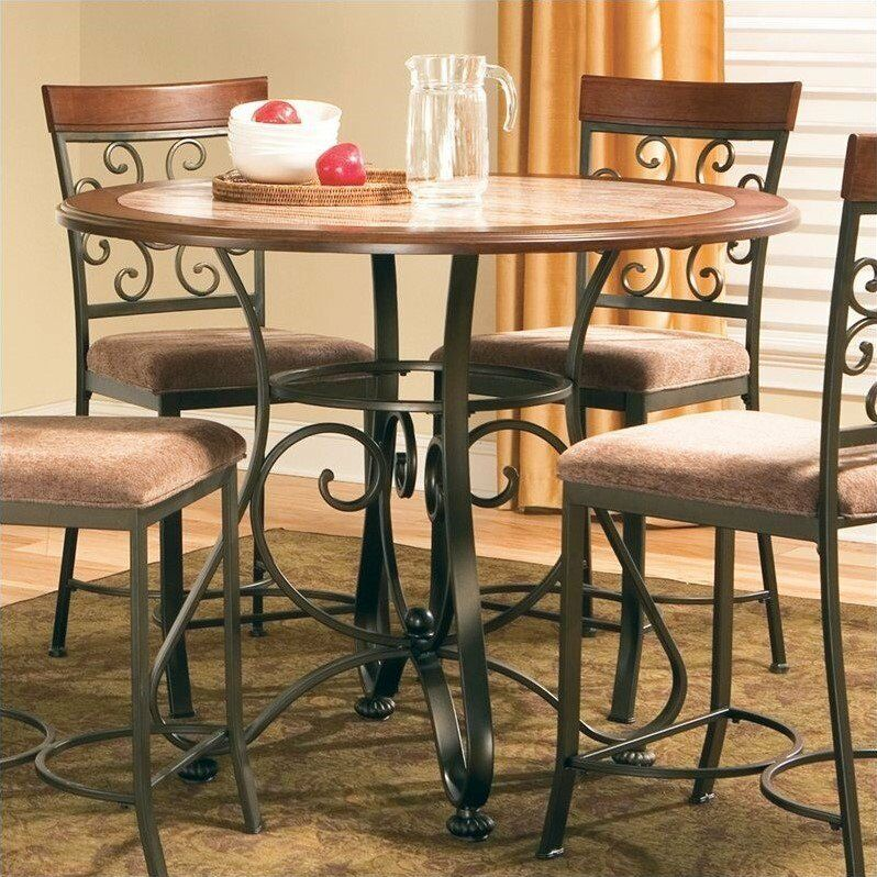 Steve Silver Company Thompson Round Counter Height Dining