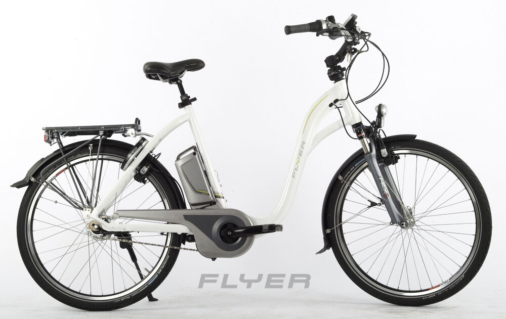 elektro fahrrad flyer c8 1 hs33 e bike 55 cm shimano 8. Black Bedroom Furniture Sets. Home Design Ideas