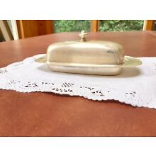 The Sheffield Silver Co. Butter Dish/With Lid