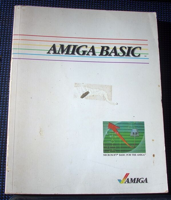AMIGA BASIC Manual  Microsoft Basic for Amiga | eBay
