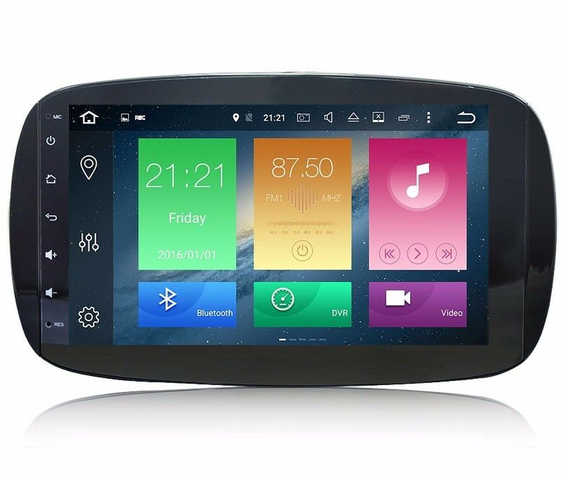 9 android 6 0 car gps radio player for smart fortwo w453 for Ebay motors app android