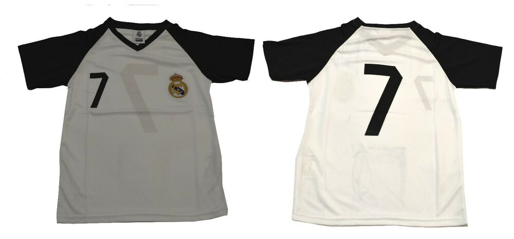 4e350cabf61 Details about Youth Soccer Jersey Real Madrid Cristiano Ronaldo Number 7 boy  kids