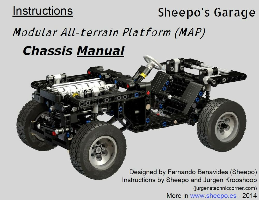 Sheepos Lego Technic Modular All Terrain Platform Manual Chassis