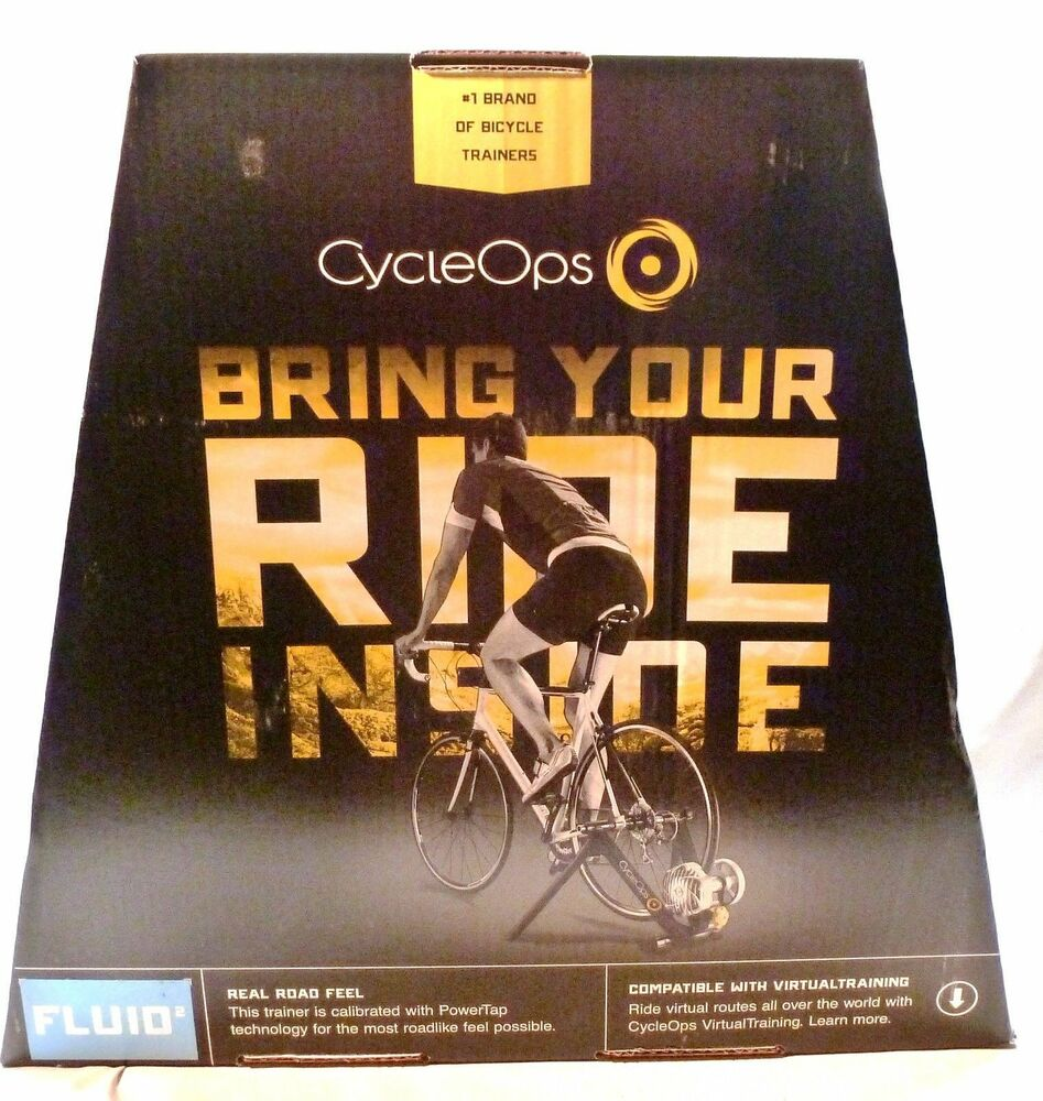 Cycleops Fluid 2 Bicycle Trainer Virtual Training