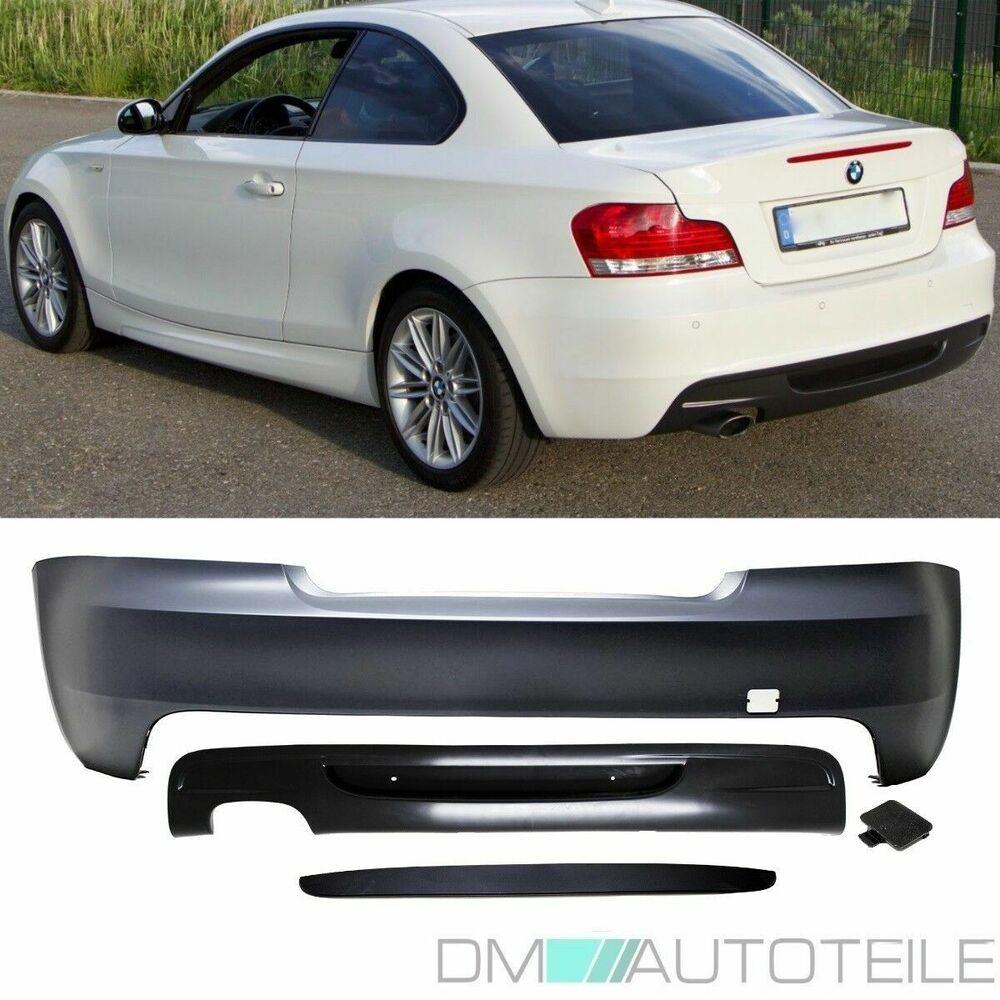 bmw 1er e82 e88 coupe cabrio sto stange hinten ohne pdc. Black Bedroom Furniture Sets. Home Design Ideas