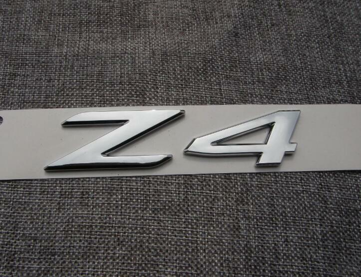Chrome Trunk Number Letters Emblem Emblems Badge Badges