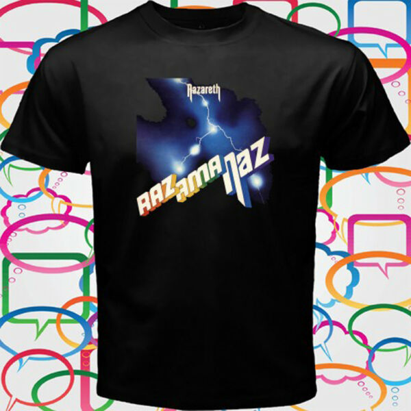Nazareth *Razamanaz Rock Band Legend Men's Black T-Shirt Size S to 3XL