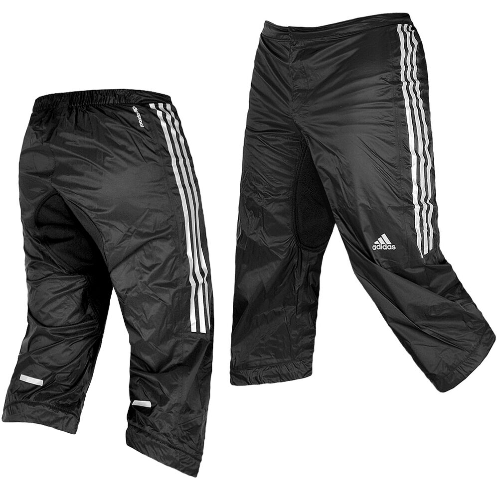 adidas herren 3 4 radhose sitzpolster regenhose fahrrad. Black Bedroom Furniture Sets. Home Design Ideas