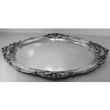 FRANCIS I By Reed & Barton STERLING SILVER VERY LARGE TEA TRAY, NO MONO