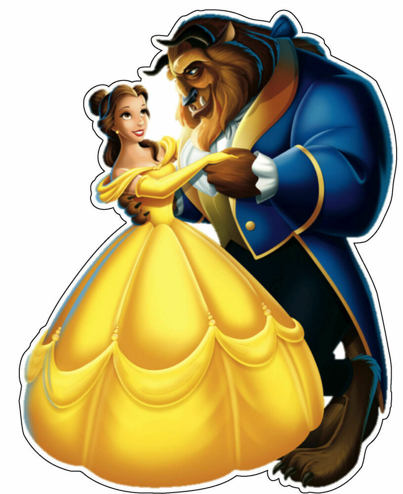 Beauty And The Beast Disney Decal Vinyl Sticker /bumper