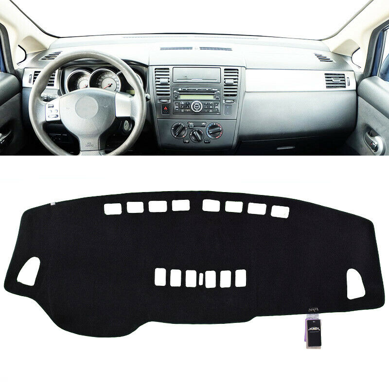 xukey dashboard cover dashmat dash mat pad for nissan versa tiida c11 2007 2011 ebay. Black Bedroom Furniture Sets. Home Design Ideas