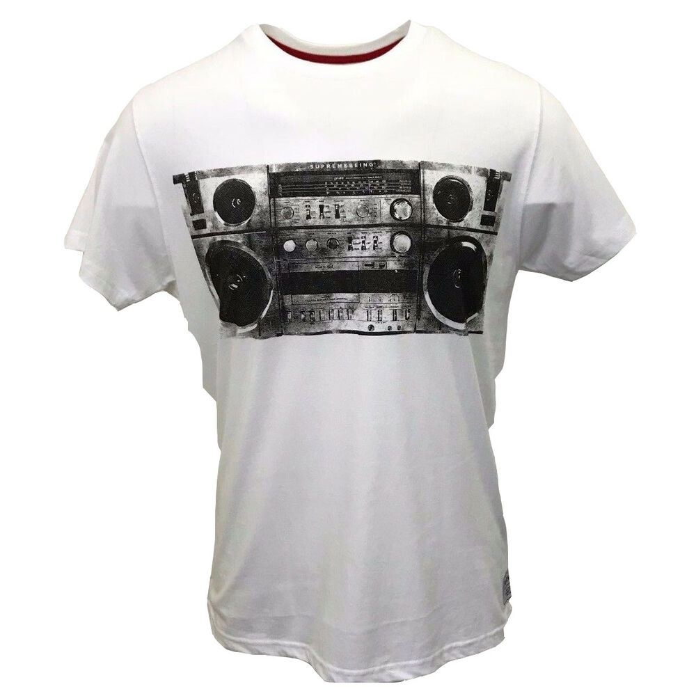 7a9daedf Details about Supreme Being Men's Sound System S/S Tee (Retail $50)