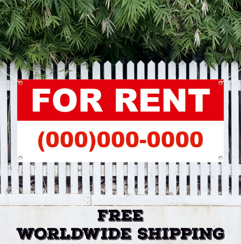 Ebay Houses For Rent: For Rent Advertising Vinyl Banner Flag Sign Many Sizes