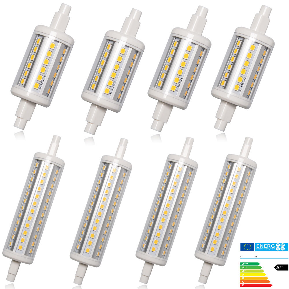 10 4 x r7s j78 j118 78mm 118mm led leuchtmittel stab for Lampadina r7s led 78mm