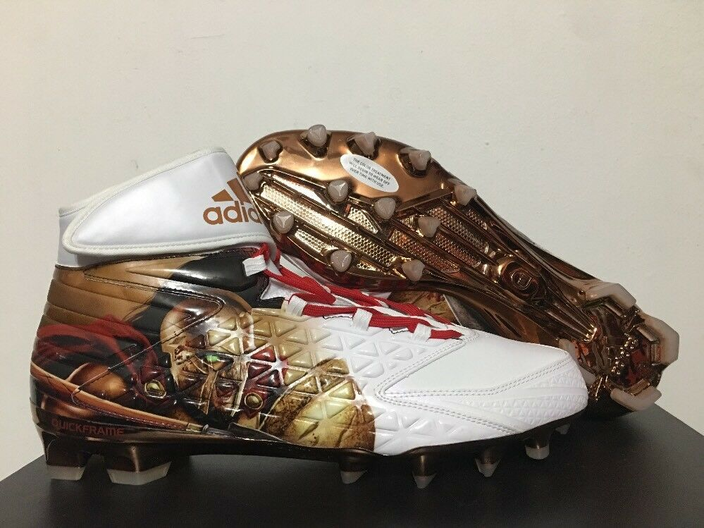 finest selection 211f4 ef1b5 Details about Adidas Freak X Carbon High Uncaged Spartan Football Cleats SZ  13   AQ7824