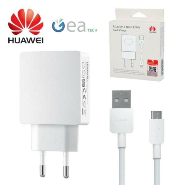 Huawei CaricaBatterie Rapido QUICK CHARGE Originale Travel FAST 2A Per P10 Lite