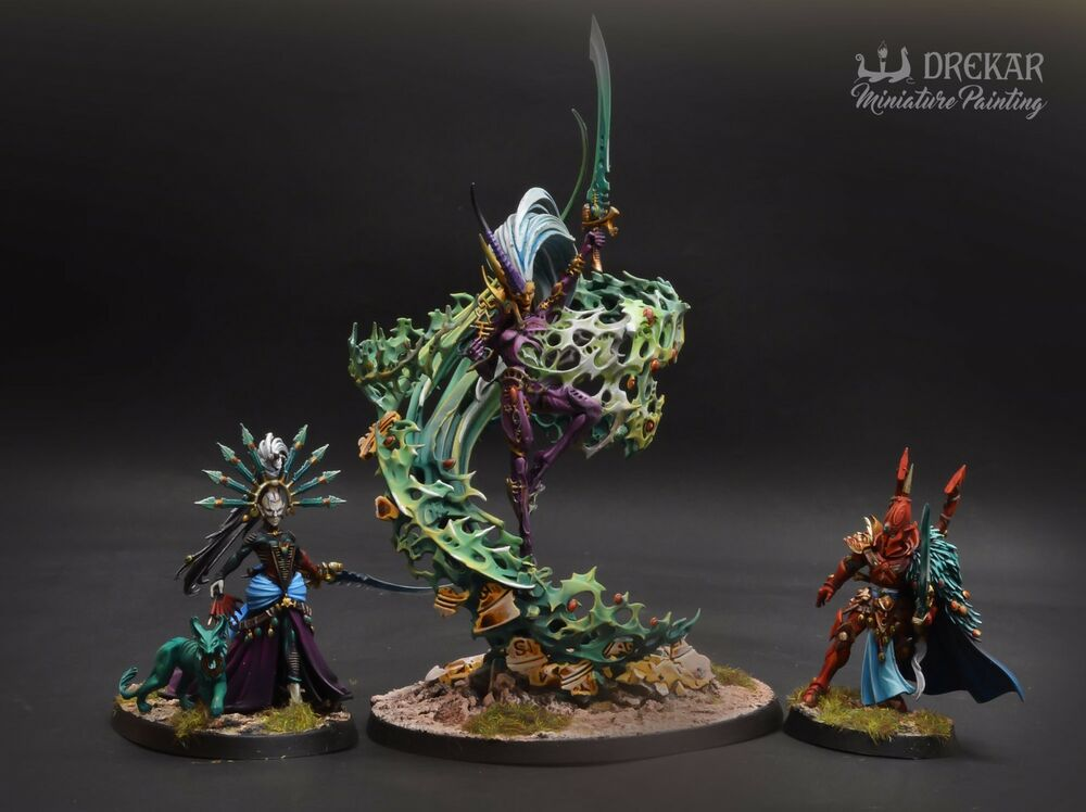 75 Chrome Shop >> Triumvirate of the Ynnead warhammer 40K ** COMMISSION ...