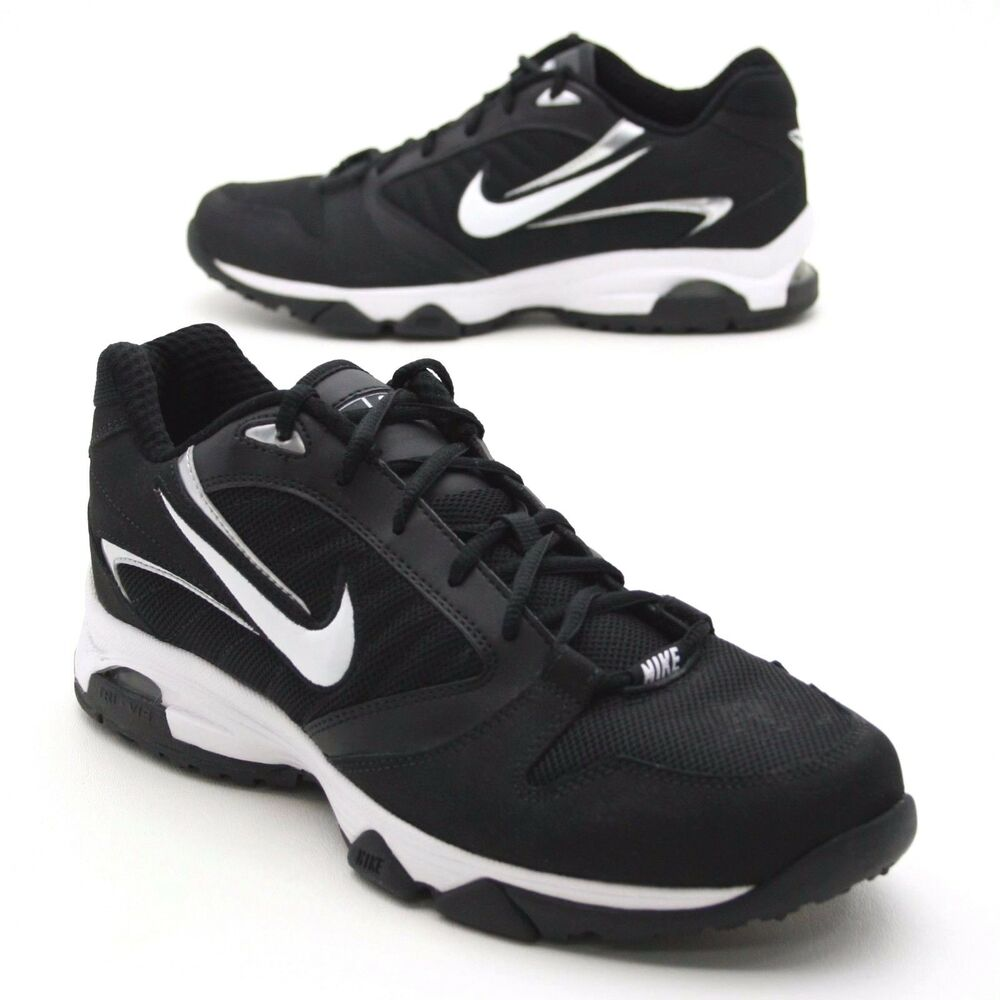 6ec975bf2029 Details about Nike Speed XT Mens 10 Running Shoes Lace-Up Black   White  Training Sneakers