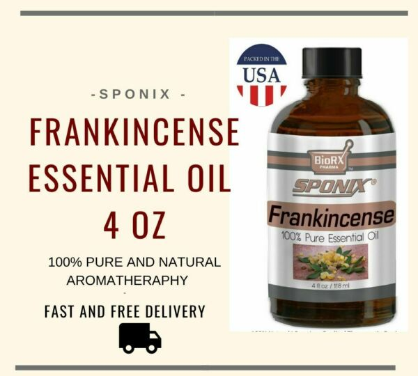 Best Frankincense Essential Oil - Top Aromatherapy Pure Therapeutic 118 ml