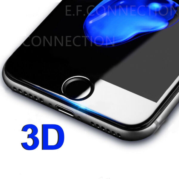 Pour iPhone 8/7/6S/6/PLUS XR X XS MAX VITRE VERRE TREMPE 3D Film Protection Full