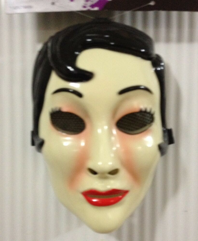 the strangers emo girl mask prop replica halloween jason freddy