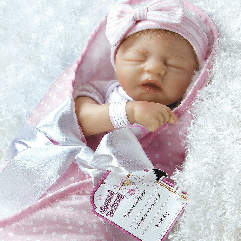 Paradise Galleries Realistic Baby Doll Flextouch