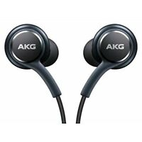 Black AKG Samsung Earphones