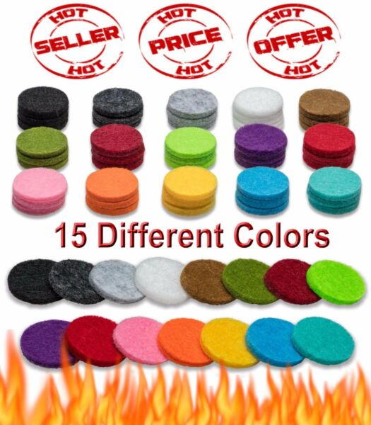 Essential Oil Diffuser Necklace Refill Pads For Aromatherapy Pendant Locket