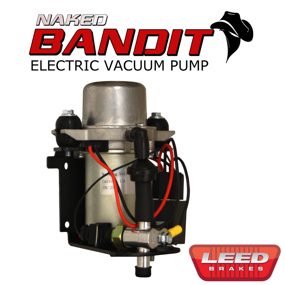 Electric Vacuum Pump For Power Brakes 12v Prewired Naked
