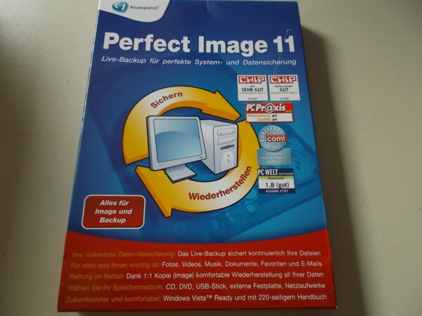 Avanquest Perfect Image 11, Backup Software, #SO-45