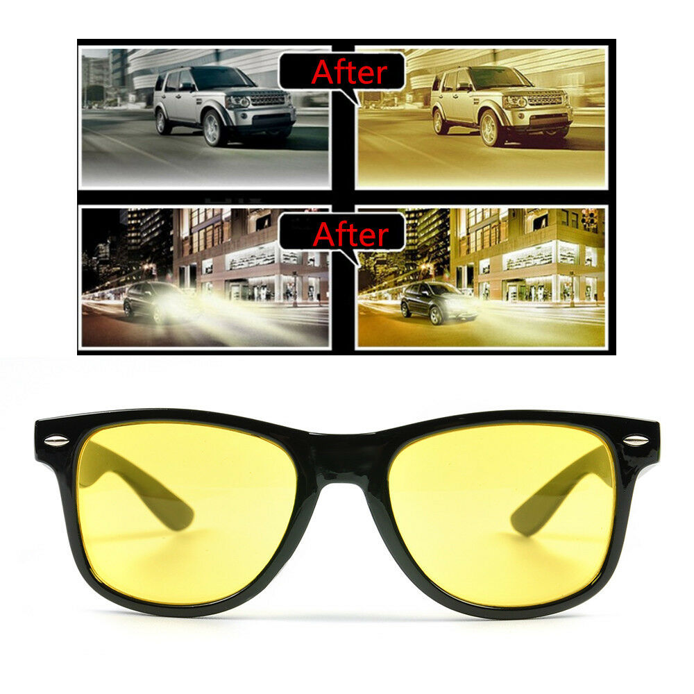 442db6ed178fb Details about UV 400 Polarized Anti-Glare Sunglasses Night Vision Outdoor  Driving Glasses NEW