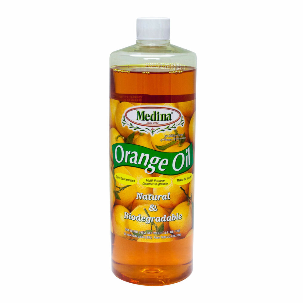 Medina Orange Oil Cleaner Concentrate 1 Quart Ebay