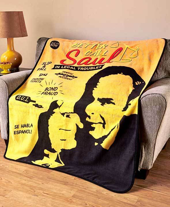 In Legal Trouble, then you BETTER CALL SAUL Blanket - Officially Licensed  | eBay