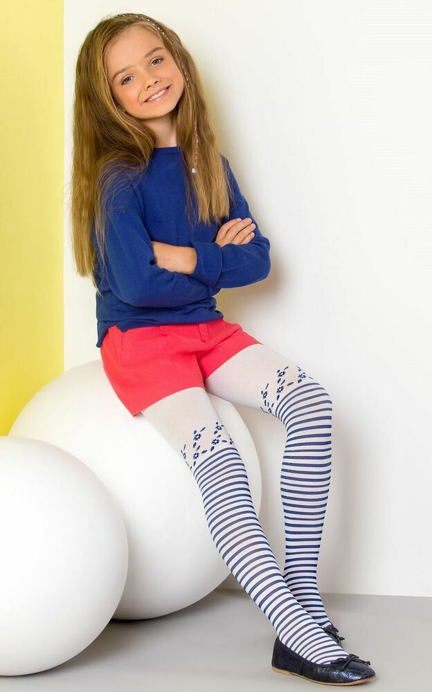 Girls Microfibre 60 den Tights Age 4 - 11 New Kids Opaque
