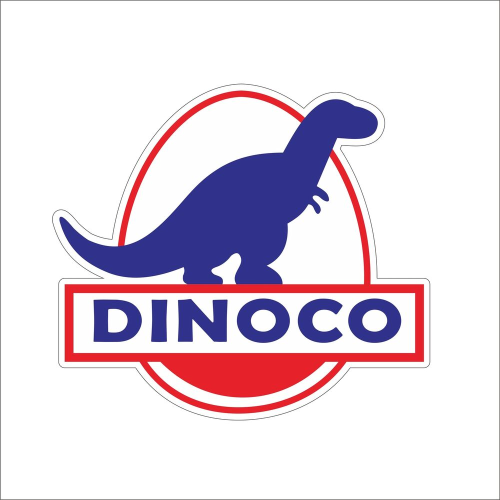 Details about dinoco easy idle etc cool vinyl hard hat sticker decal motorcycle car decor