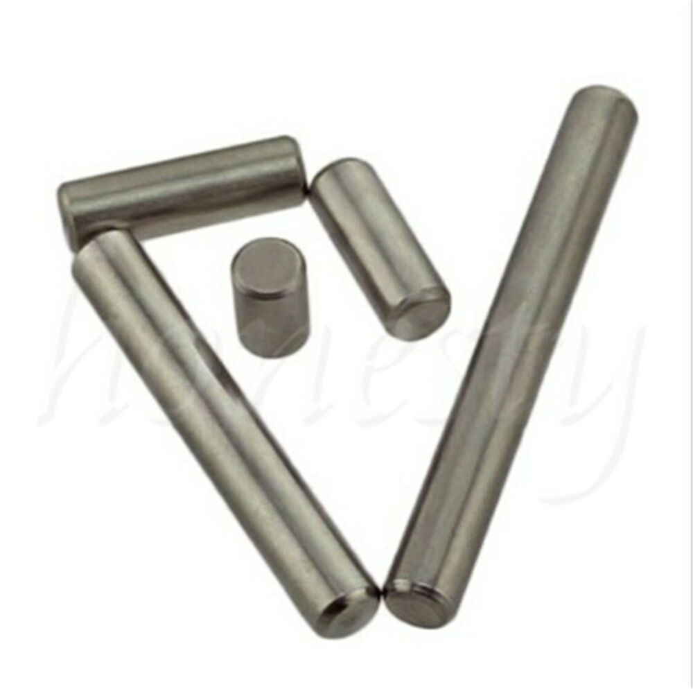 20pcs 3mm Stainless Steel Cylindrical Pin Dowel