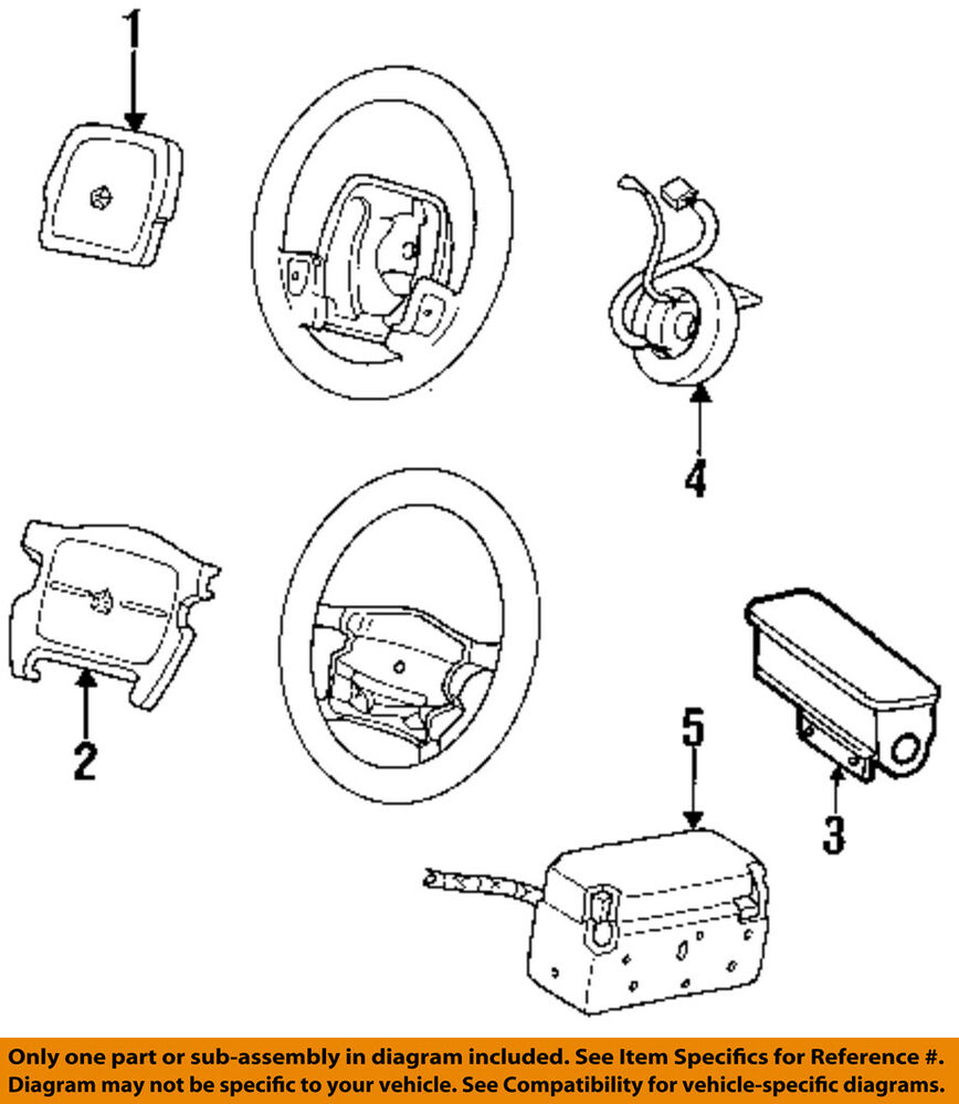 Chrysler Oem Airbag Air Bag Clockspring Clock Spring 4688551 Ebay 2011 Caravan Wiring Diagram